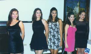 The carnival queen contestants of 1997. You don't want to miss this picture, they are all beauties.